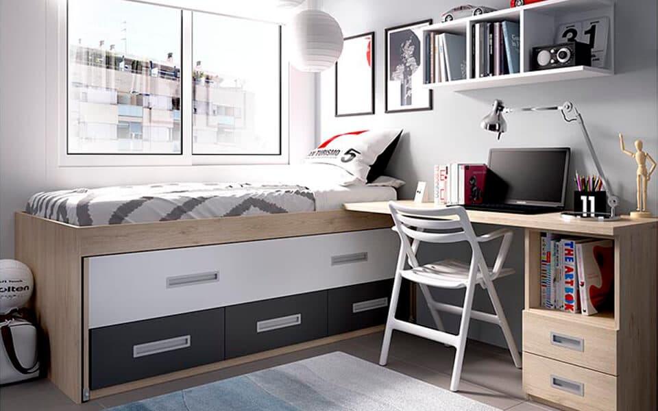 El mueble dormitorio juvenil dormitorios infantiles zb - Dormitorios juveniles el mueble ...